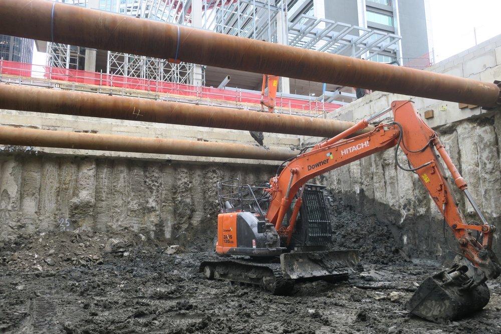 CRL construction October 2018