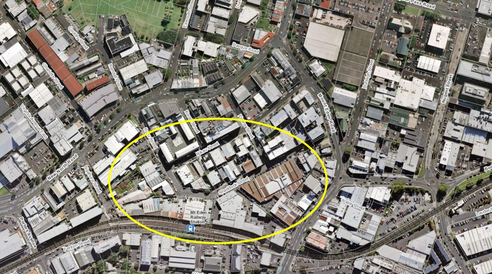 AREA: This is the area required for CRL construction