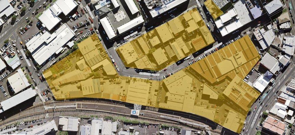 GOING: These are the CRL-owned buildings that will be demolished