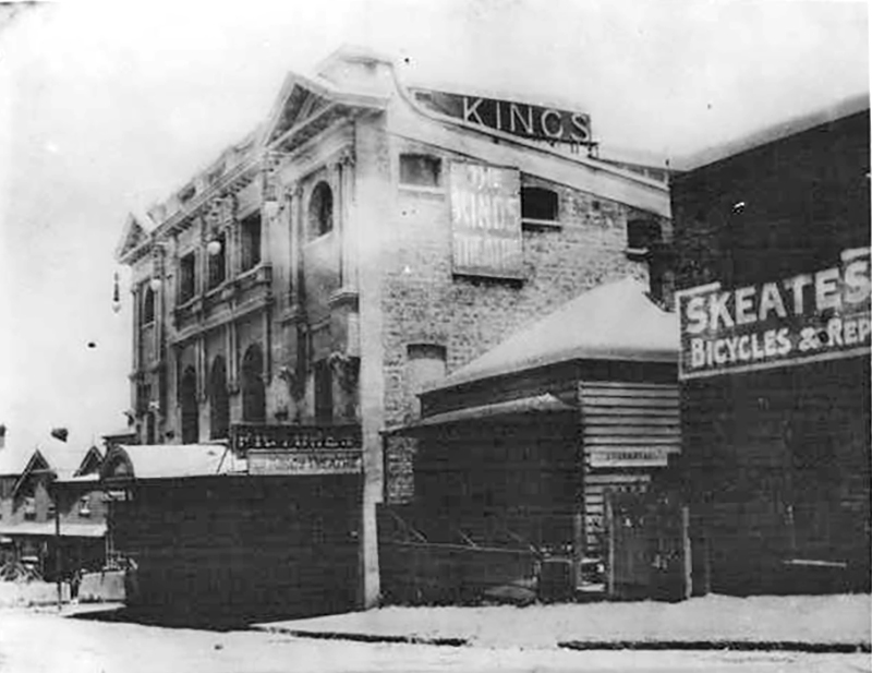 The Kings Theatre, which became the Mercury, in 1920 (Photo: Auckland War Memorial Museum collection)