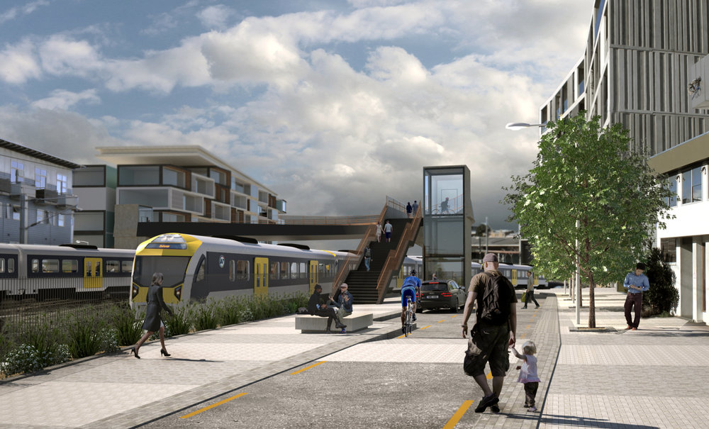 FENTON: Fenton Street, looking towards the new Fenton to Ngahura overbridge