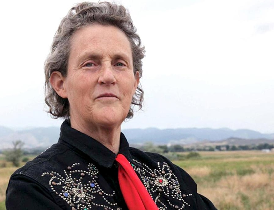 Temple Grandin, Ph.D. Coauthor of  The Autistic Brain  (2013) and  Animals Make Us Human  (2010).