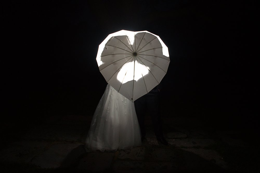 wedding umbrealla photo, hart shaped umbrella for weddings