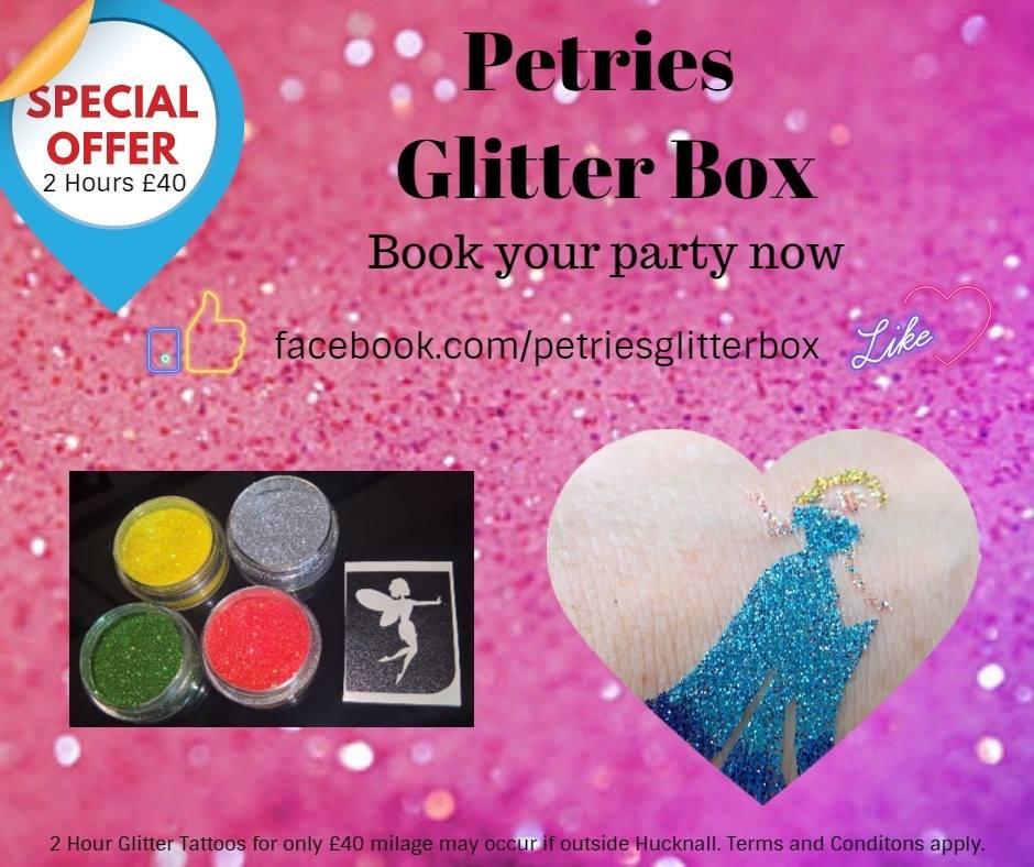 Petrie's Glitter Box