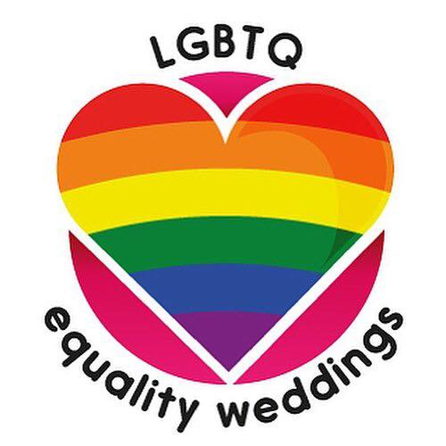 We support equality weddings - LGBTQ