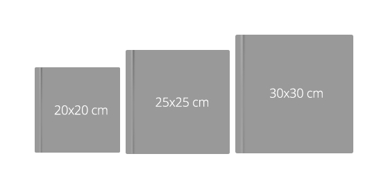 Petrie's Photography album sizes