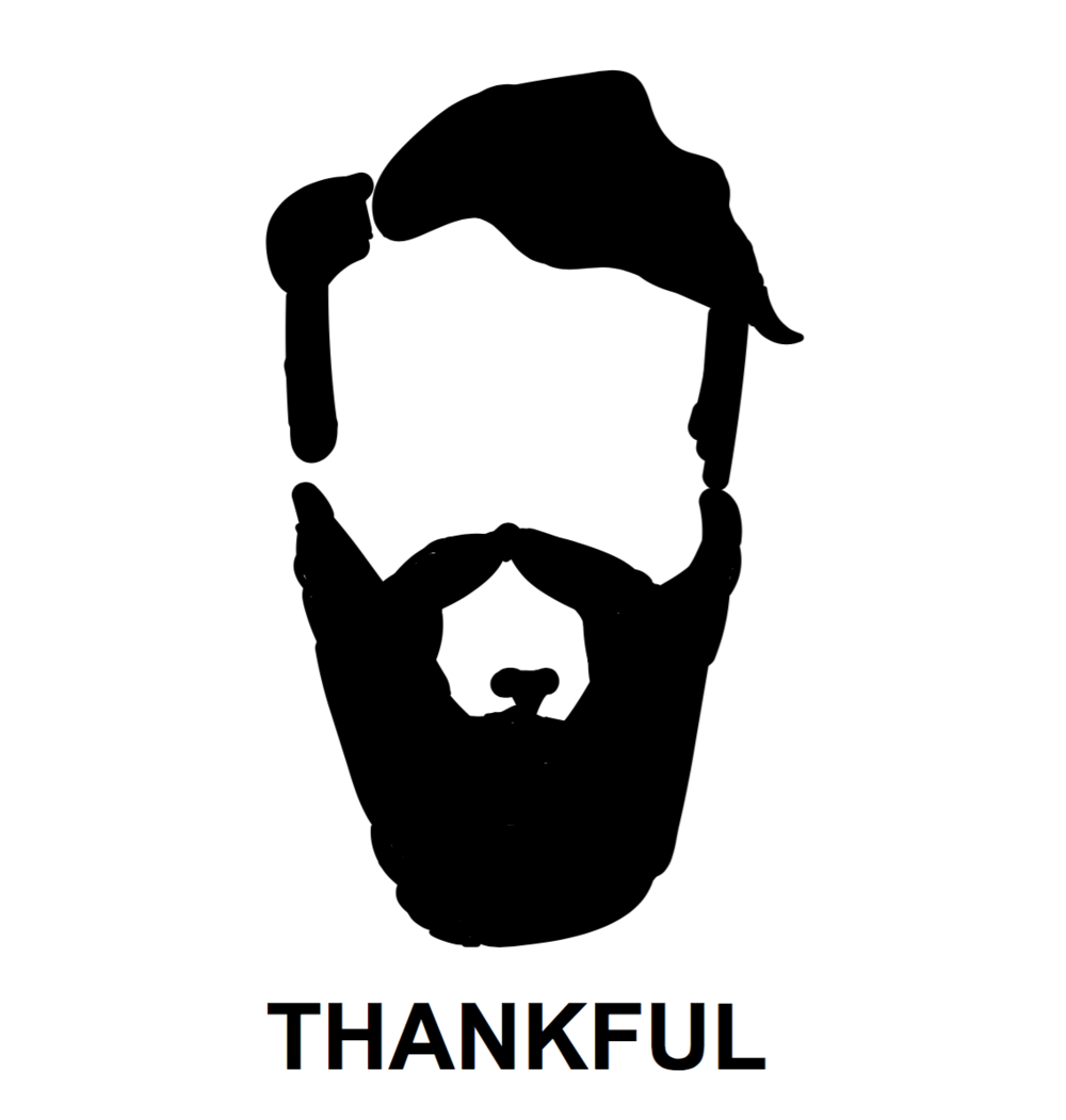 Original branding based off a sketch where the Thankful story started.
