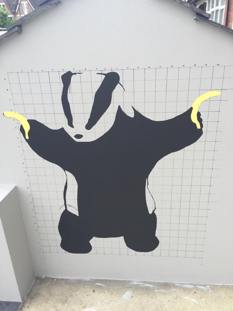 Badger Stencil