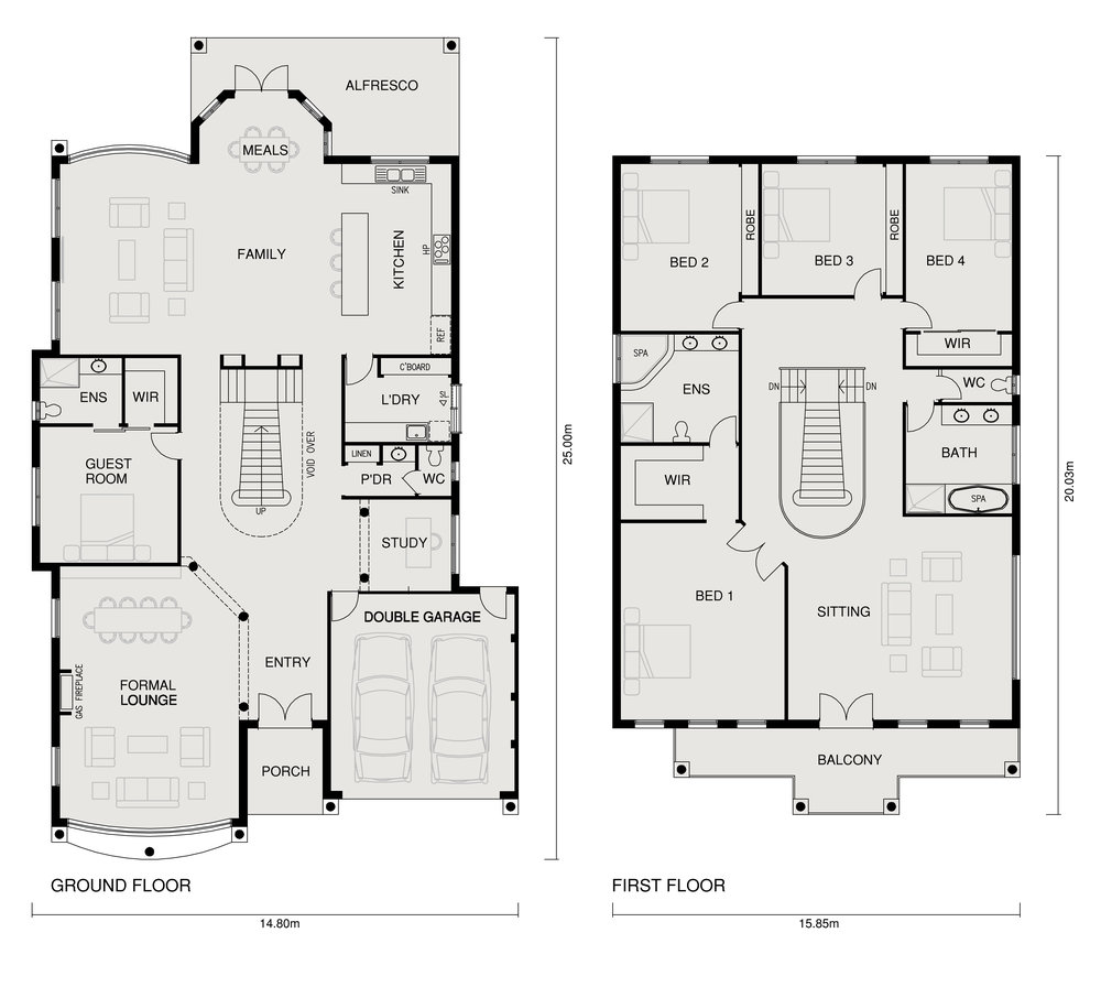 CRYSTAL FLOOR PLAN