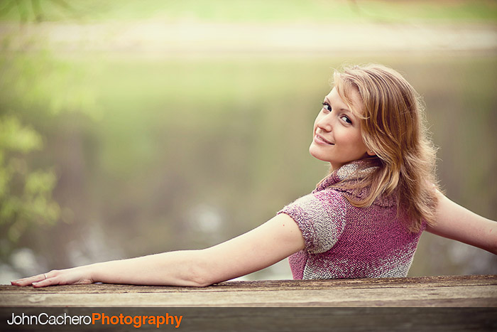 Chesapeake Virginia Senior Portrait Photograph by John Cachero - Heather R.