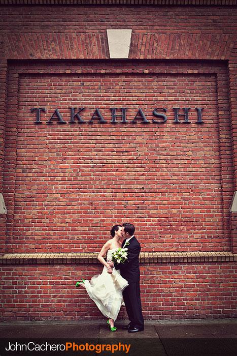 San Francisco Wedding Photograph by John Cachero - Abby & Dave