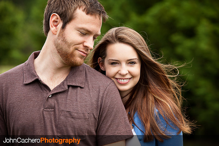 Chesapeake Virginia Couple Portrait Photograph - Candice & Joe