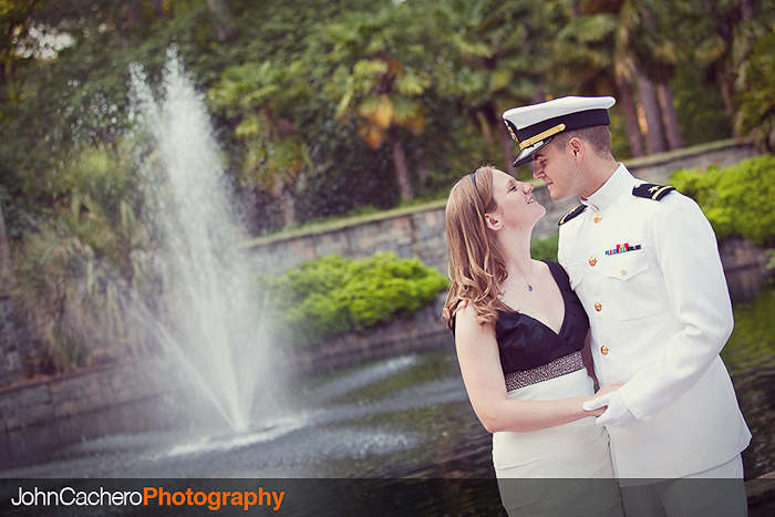 Norfolk Virginia Engagement Portrait Photograph - Cecelia & Ian