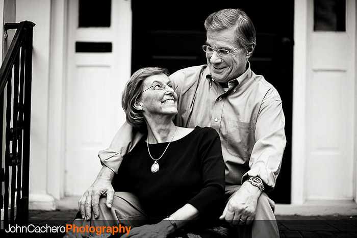 Norfolk Virginia Couple Portrait Photograph - Jane & Tom