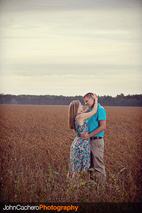 Chesapeake Virginia Engagement Portrait Photograph - Kayleigh & Kyle