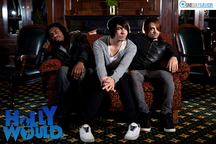 Holly Would... Official Band Promo Photograph by John Cachero Photography