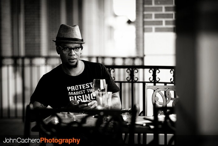 Virginia Beach Celebrity Portrait Photograph by John Cachero Photography - D.L. Hughley