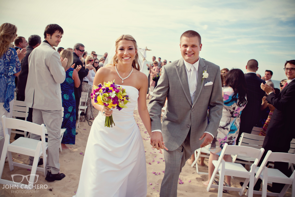 Virginia Beach Wedding Photograph by John Cachero Photography
