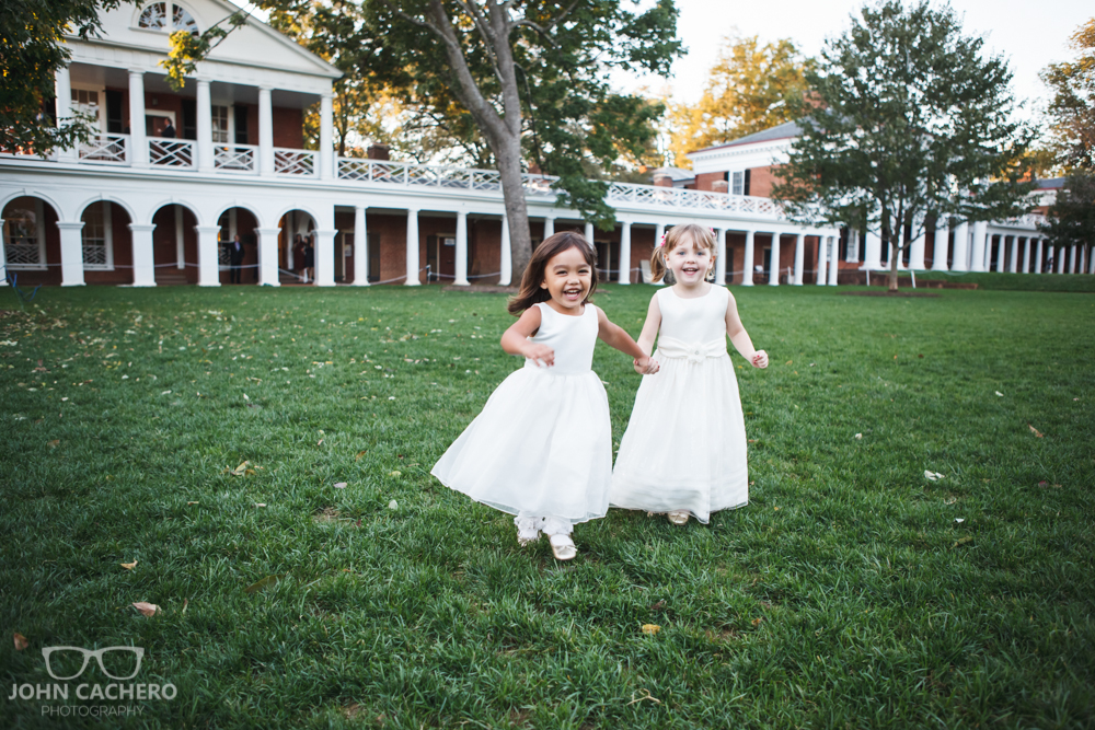 University of Virginia Wedding Photograph by John Cachero Photography