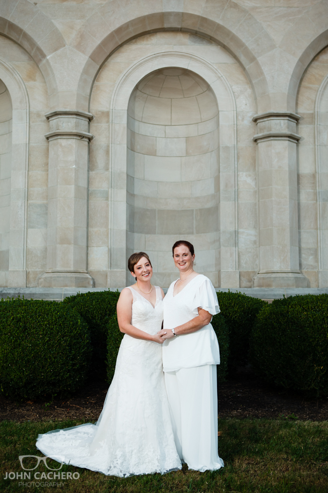 Chrysler Museum Norfolk Virginia LGBT Wedding Photograph by John Cachero Photography