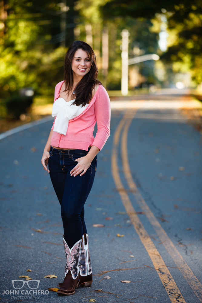 Chesapeake Virginia Senior Portrait Photograph by John Cachero Photography