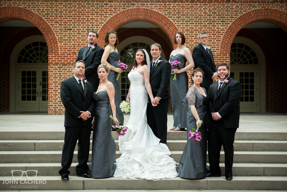 Regent University Virginia Beach Wedding Photograph by John Cachero Photography