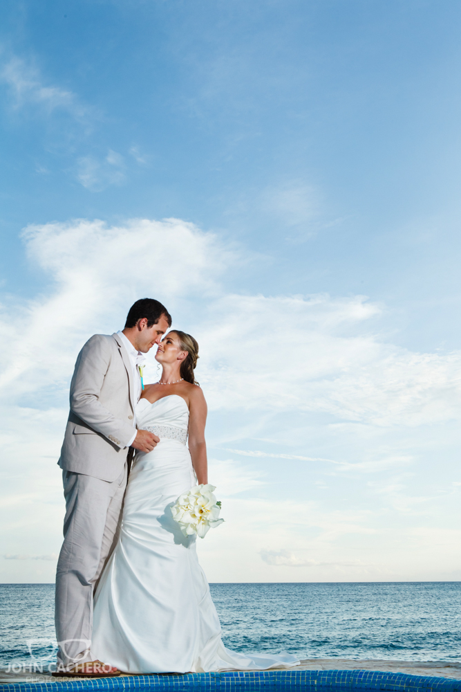 Dominican Republic Destination Wedding Photograph by John Cachero Photography
