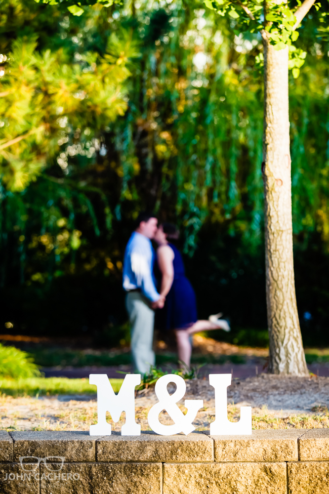 Norfolk Virginia Engagement Portrait Photograph by John Cachero Photography