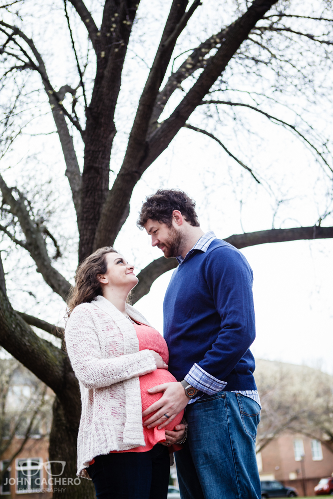 Norfolk Virginia Maternity Portrait Photograph by John Cachero Photography