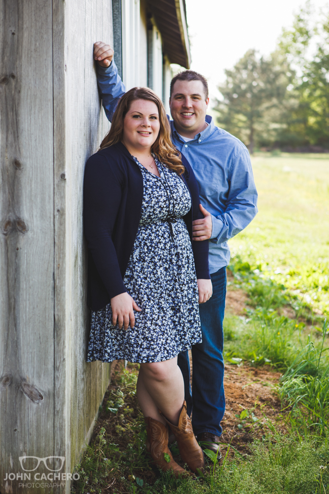 Chesapeake Virginia Engagement Portrait Photograph by John Cachero Photography