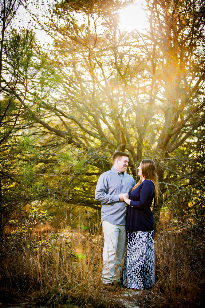 Virginia Beach Engagement Portrait Photograph - Sarah And Matthew - by John Cachero for Ross Costanza Photography