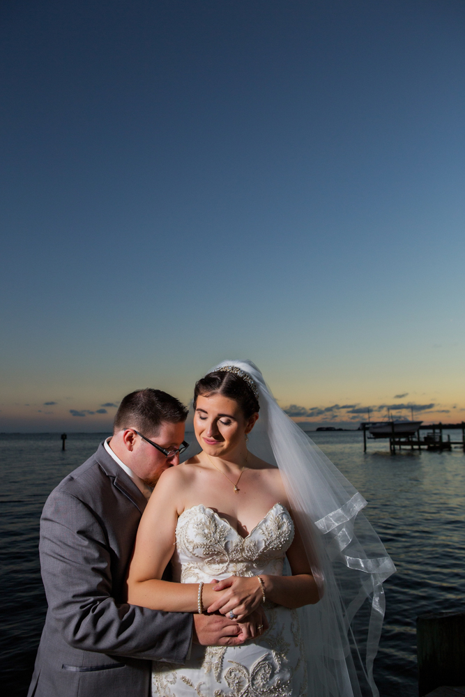 Eastern Shore Wedding Photograph - Chincoteague Virginia - Barbara And Jerry - by John Cachero for Ross Costanza Photography