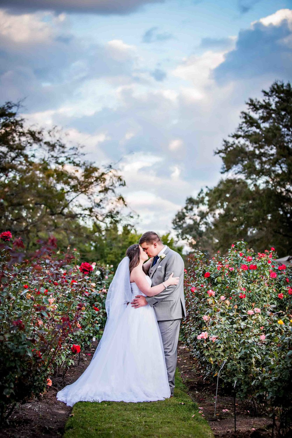 Norfolk Botanical Garden Wedding Photograph - Samantha And Greg - by John Cachero for Ross Costanza Photography