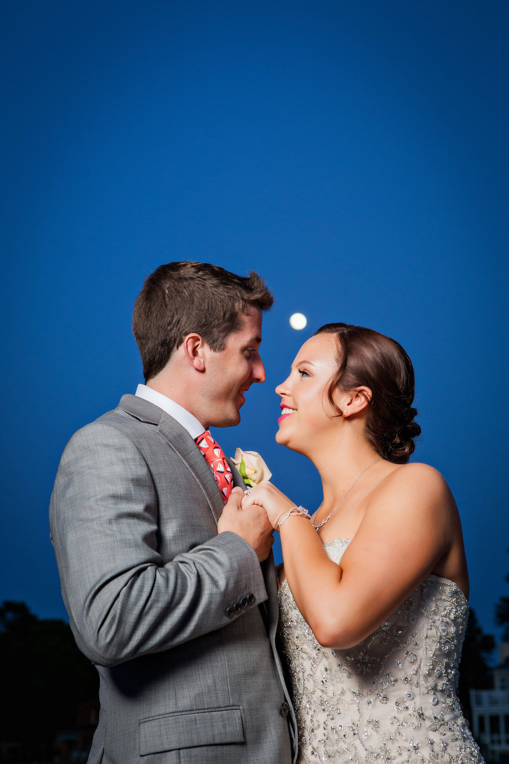 Marina Shores Wedding Photograph - Virginia Beach - Ashley And Tommy - by John Cachero for Ross Costanza Photography