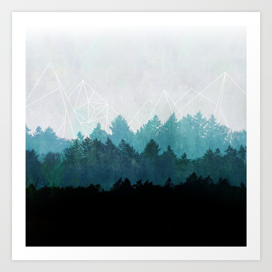 Mareike Bohmer, Woods Abstract, £19