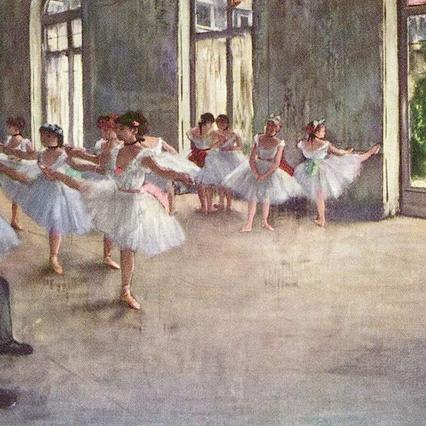 Degas the art class.jpg