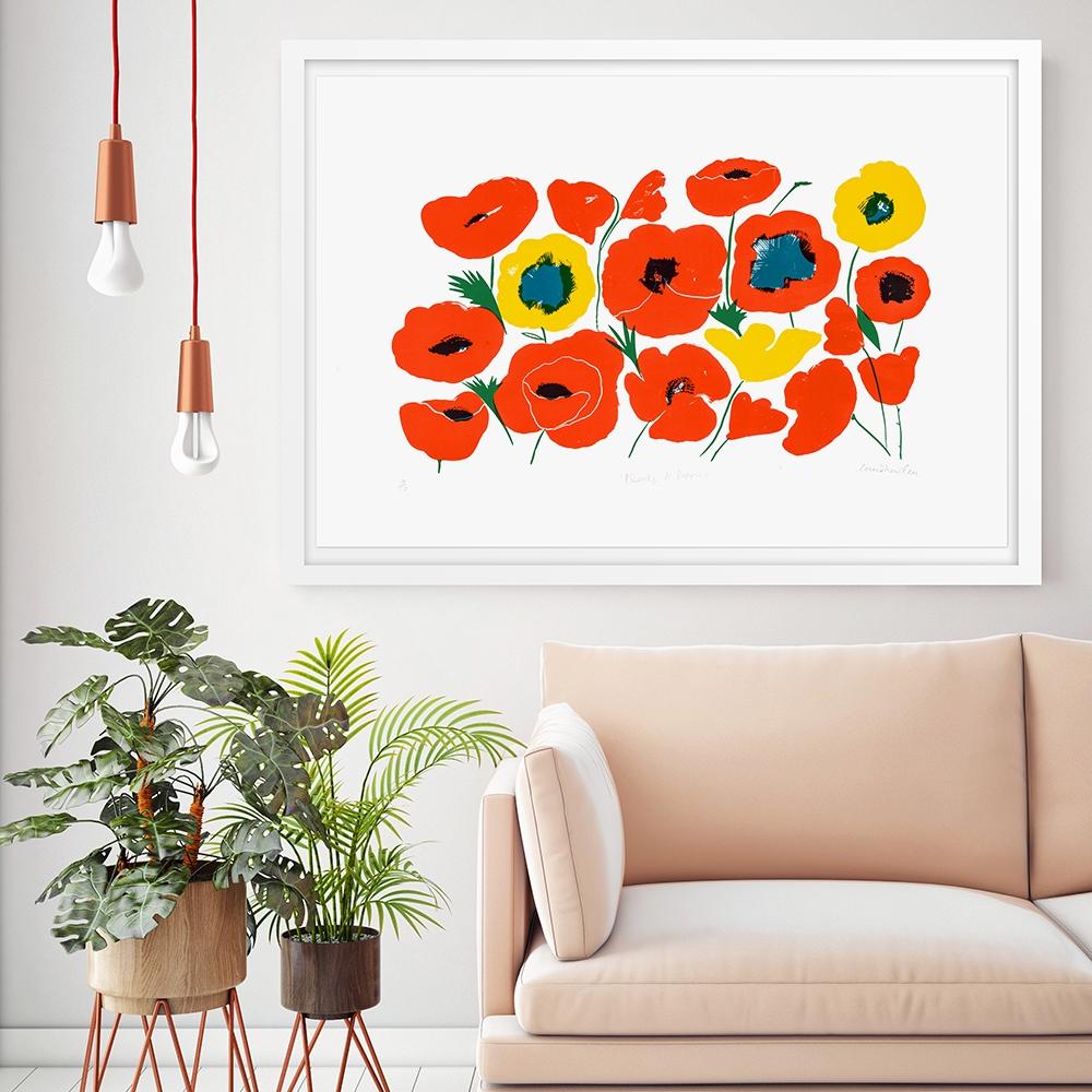Plenty of Poppies,limited edition screen print, £250 unframed.jpg