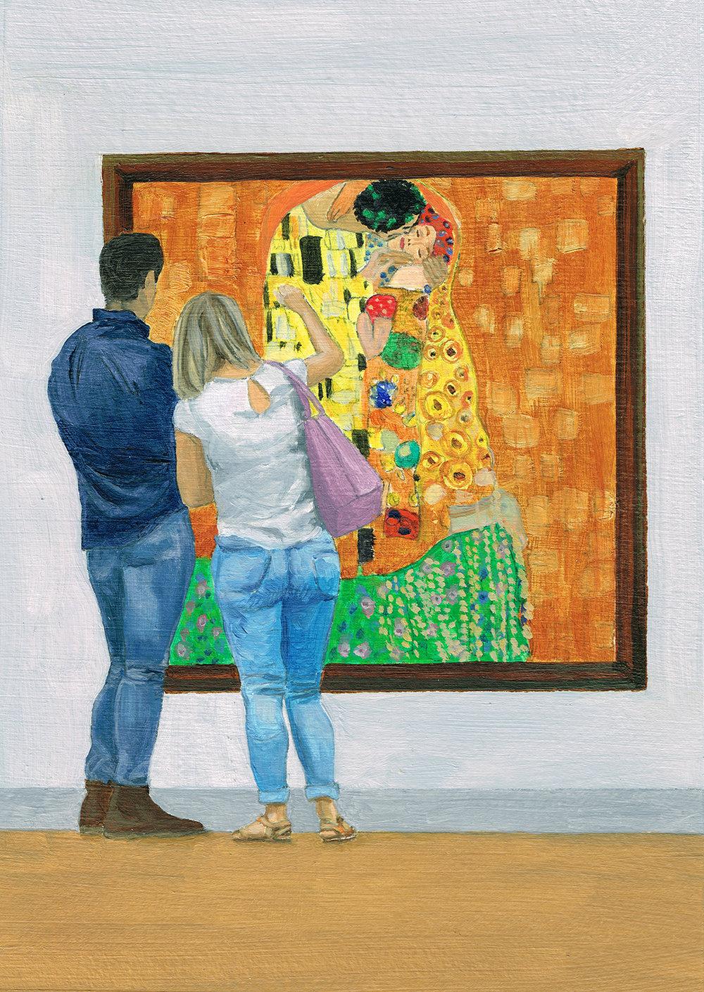 In the gallery. Klimt.jpg