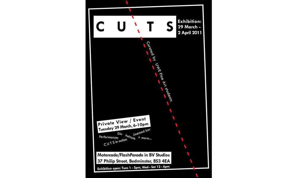 C U T S poster, 2011