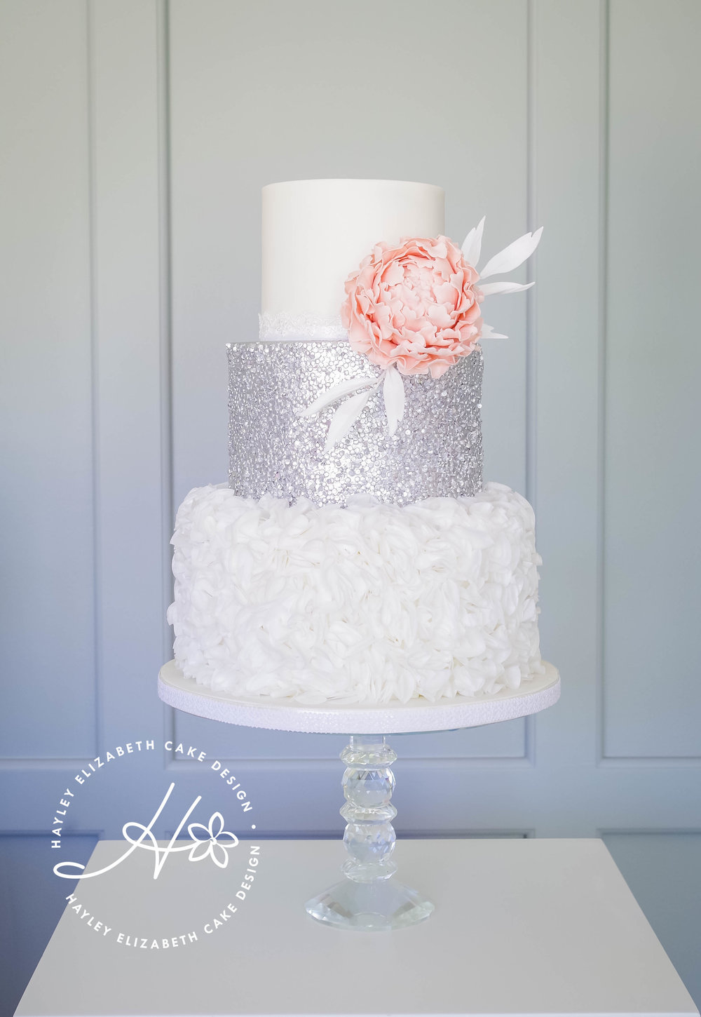 silver-sequin-and-blush-pink-peony-wedding-cake.jpg