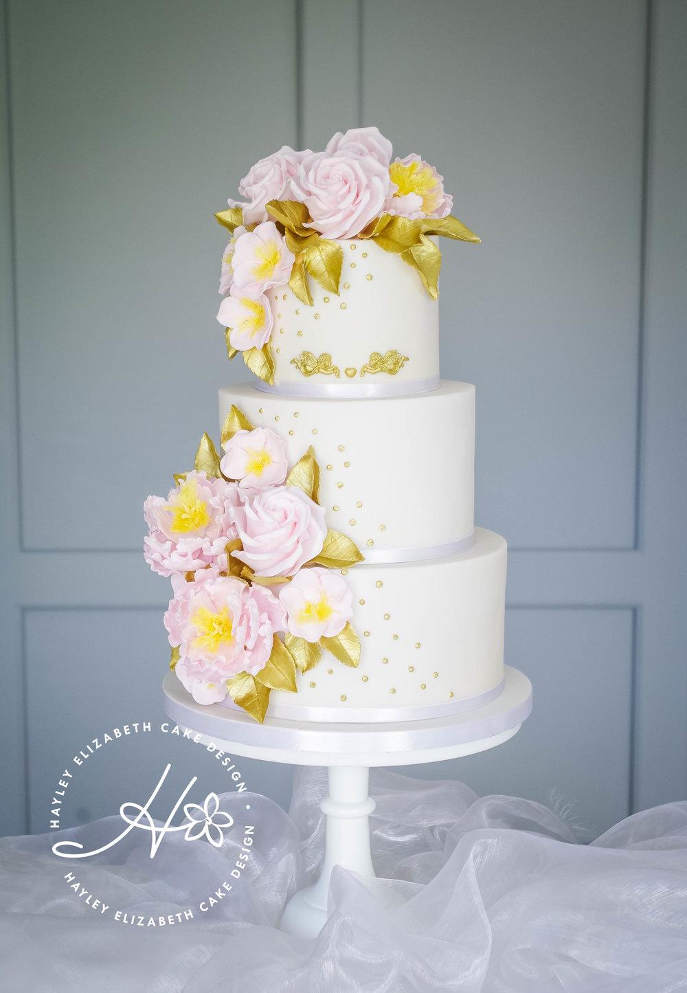 vintage tea rose wedding cake-3.jpg