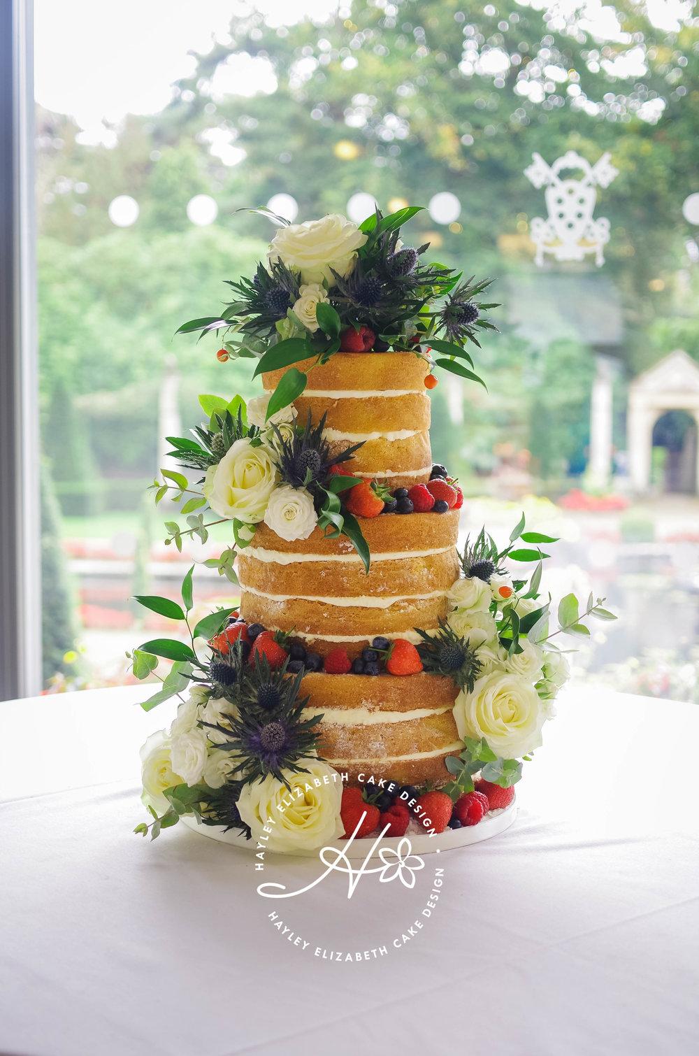 naked wedding cake Dorset.jpg
