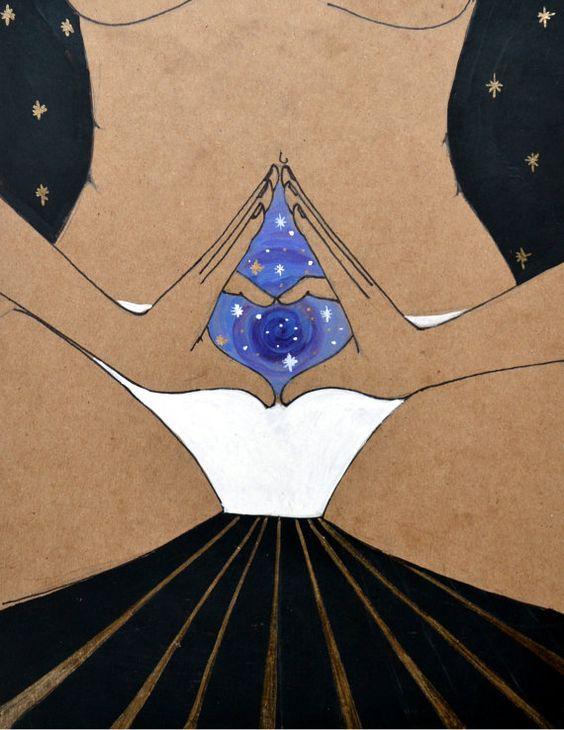 yoniverse yoni art sacred goddess universe