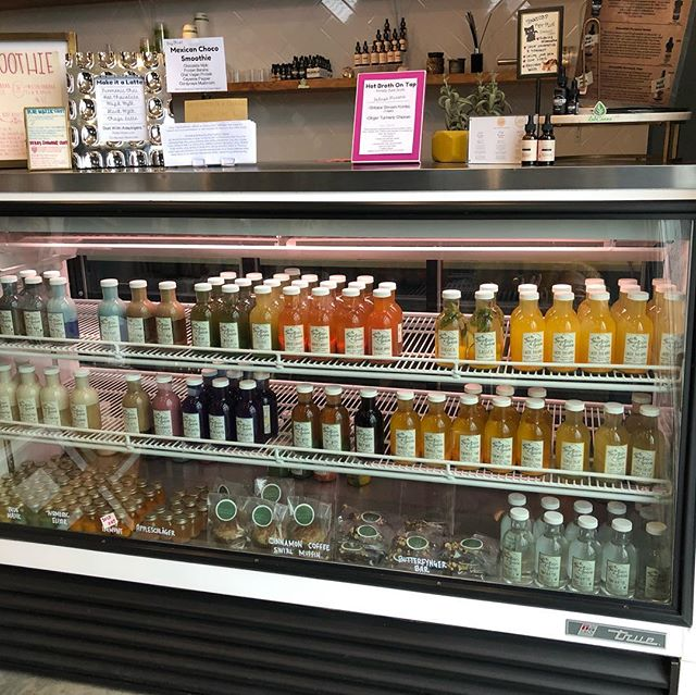 Brighten up your soul with some amazing juice and tonics from @thefountainofjuice right here in the hood.  Our absolute favorite is their Tumeric Tonic.  #juice #detox #thenations615 #thenations