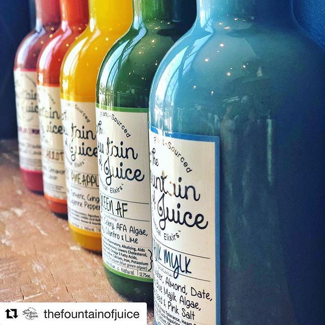 Celebrate St. Patty's Day with a rainbow of colors. @thefountainofjuice Nations shop opens at 8am Sundays, and Nashville Farmers Market shop opens at 10:30am.  #thenations615