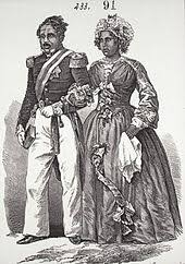 Radama II and his wife, Rabodo, who would become Queen Rasoherina after his (supposed) assassination