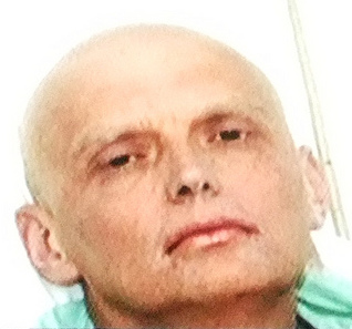 Litvinenko in hospital in November 2006. The photograph was taken as part of a PR campaign initiated by Alexander Goldfarb, an associate of Boris Berezovsky.