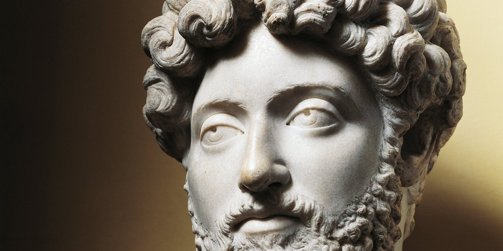 Marcus Aurelius - an emperor of Rome and famous for practicing Stoicism. Hey, if it helped a Roman Emperor, it can probably help us, right?