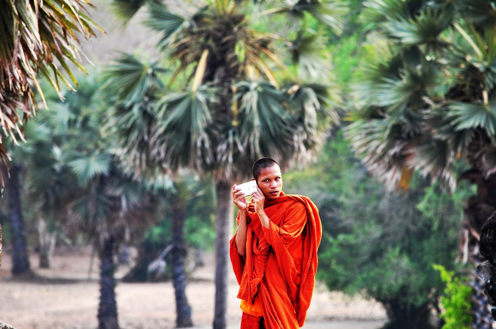 Monks are smart. Copy them. Listen more.