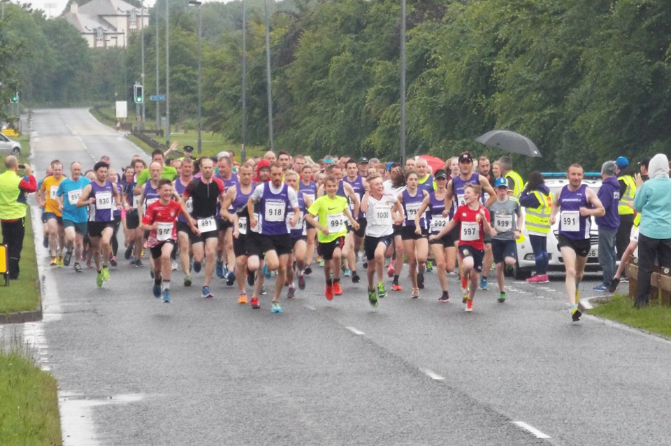 The start of the Boom Foundation 10k